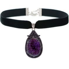 JADA Amethyst Choker (£40) ❤ liked on Polyvore featuring jewelry, necklaces, amethyst pendant, pendant choker necklace, choker necklace, pendants & necklaces and amethyst pendant necklace