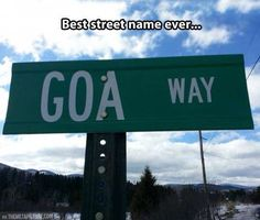 Funny sign might be all you need???