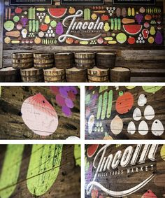 Whole Foods Market mural - Lincoln Nebraska | Doe Eyed / Design & Illustration