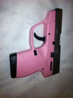 My gun only in pink.