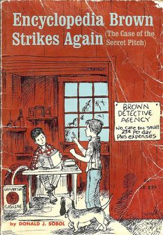 RIP—Encyclopedia Brown Creator Donald Sobol Dies. I really enjoyed his books when I was a child. :(