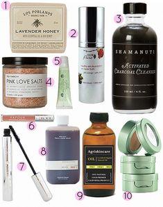 Coclico favorite eco-friendly beauty buys via @Design*Sponge #greenbeauty