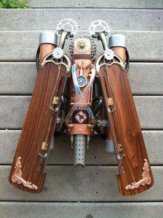 Steampunk Buzz Lightyear Jetpack mark 9a by umdhuan