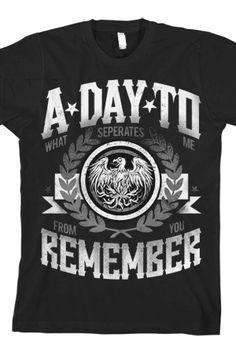 c1490142 A Day To Remember Adtr Merch, Band Merch, Band Tees, Cheap Band Shirts