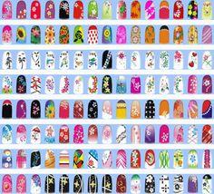 Decoración de uñas mediante impresora digital - http://www.xn--todouas-8za.com/decoracion-de-unas-mediante-impresora-digital.html