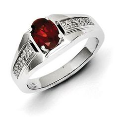 Men's Oval Garnet Diamond Ring In Sterling Silver Jewelry Available Exclusively at Gemologica.com Valentine's Day 2015 Jewelry Gift Ideas for Him, Her and Kids. Gemologica has the perfect homemade and creative gifts for your boyfriend, girlfriend and for couples including rings, earrings, bracelets, necklaces and pendants. Shop now for special savings at www.gemologica.com Gift Guide Located at https://www.gemologica.com/jewelry-gift-guide-c-82.html