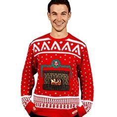 Kamin Weihnachtspullover - 1
