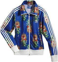 Adidas Originals x Farm pineapple jacket Via www.nenz.net