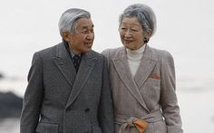 Noblesse & Royautés:  Emperor Akihito and Empress Michiko, shown in a recent photo, celebrate their 55th wedding anniversary today, April 10, 2014.  Then Crown Prince Akihito married Michiko Shoda, the first commonor to marry into the Imperial Family, on April 10, 1959.  The couple have three children--Crown Prince Naruhito, Prince Akishino, and Sayako Kuroda (formerly Princess Nori), and four grandchildren.