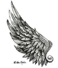 Image result for angel wing wide