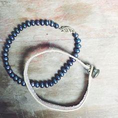 Heirloom Collection - Vintage Bracelet Duo Pearl