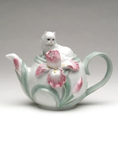 Look at this #zulilyfind! Persian Cat Teapot #zulilyfinds