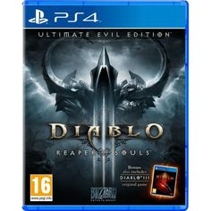 Diablo III 3 Reaper Of Souls Ultimate Evil Edition PS4 Game | http://gamesactions.com shares #new #latest #videogames #games for #pc #psp #ps3 #wii #xbox #nintendo #3ds