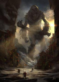 http://www.deviantart.com/art/Monster-Out-of-the-Woods-648678868