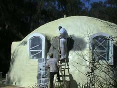 www.safedomes.com  A monolithic concrete dome is indestructible and can be off the grid