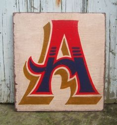 The Letter A - artist unknown