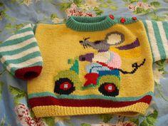 Molleke Poes: breien: babytrui