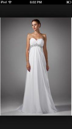 Flowy Wedding Dress