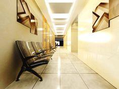 Architectural Rendering: Proposed Hospital Hallway Design