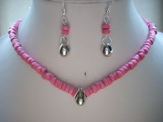 SALE Hot Pink Coconut Wood Bead Choker by DesignsbyPattiLynn, $40.00
