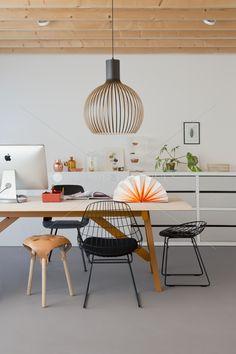 Creative Home Slowwood Dining Room Inspiration, Interior Design Inspiration, Modern Office Design, Dining Room Design, Creative Home, Home And Living, Living Spaces, Interior Decorating, Decorating Ideas