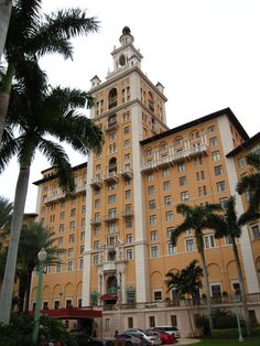 The Biltmore Hotel in Miami, Florida.