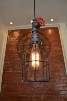 Pendant Light Pendant Lighting Industrail by WestNinthVintage