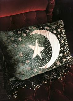 Moon and stars pillow...