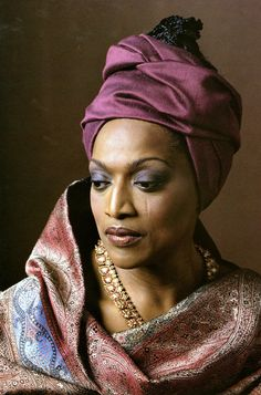 This beautiful & lovely face is none other than the gifted Jessye Norman…