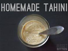 How to Make Tahini - Budget Bytes