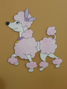 Pin puff on the Poodle