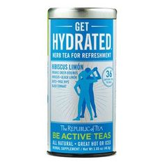 Get Hydrated® - Herb Tea for Refreshment | The Republic of Tea