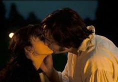 """One of the most awkward but best moments of Pride and Prejudice... """"Mrs. Darcy....................Mrs. Darcy...........................Mrs. Darcy................................................................................................................................Mrs. Darcy"""" Annnnd then the movie ends haha"""