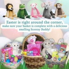 Scentsy Buddies are perfect for Easter baskets!