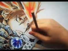 Drawing Tsuna Sawada from Kateikyo Hitman Reborn - YouTube