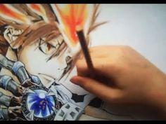 Drawing Tsuna Sawada from Kateikyo Hitman Reborn - YouTube