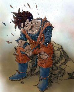 """Now, Gohan, what would your father do? The History of Trunks - Dragon Ball Z Special 02 Dragon Ball Gt, Manga Dbz, Fanart Manga, Mirai Gohan, Dbz Gohan, Goku Vs, Anime Characters, Anime Art, Character Design"