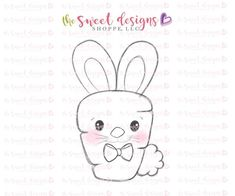 Bunny Carrot – The Sweet Designs Shoppe Diy Arts And Crafts, Felt Crafts, Paper Crafts, Anchor Stencil, Easter Cookies, Owl Cookies, Kawaii Doodles, Awareness Ribbons, Drawing For Kids