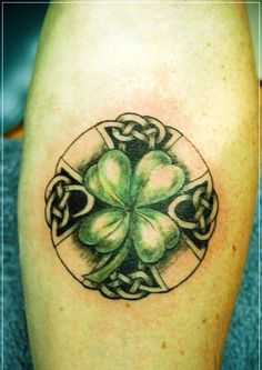 Celtic Clover Tattoo