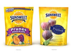 improved Sunsweet packaging. Now if they could do something about that logo...
