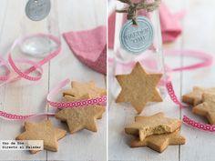 Galletas de turrón. Receta de Navidad http://www.directoalpaladar.com/postres/galletas-de-turron-receta-de-navidad