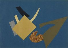 Olga Rozanova, Battle of the Futurist and the Ocean, 1916.
