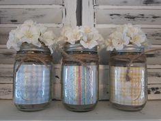 summer mason jar decor
