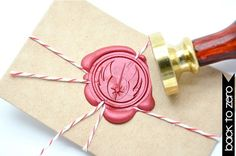 Star Wars Jedi Symbol Gold Plated Wax Seal Stamp x 1 by BacktoZero, $20.00