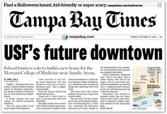 Maps4News in Tampa Bay Times, USA
