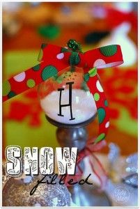 3 Homemade Christmas Ornaments