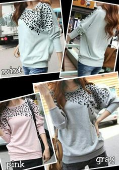 Leopard Batwing Top -Get it at www.facebook.com/anjboutique LIKE our page to keep up with our promotions!