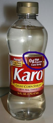 Foods that don 39 t have high fructose corn syrup syrup for Cuisine karo
