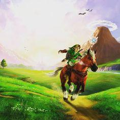 """Sabemos el origen del nombre """"Epona"""" de The Legend of Zelda! Descúbrelo en el link de nuestra bio. #videojuegos"""