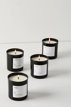 Shop unique candles that make the perfect gift. Explore Anthropologie's collection of scented candles and pretty candles. Diy Candles Scented, Homemade Candles, Soy Wax Candles, Candle Packaging, Candle Labels, Candle Jars, Candle Gifts, Candle Branding, Candle Holders